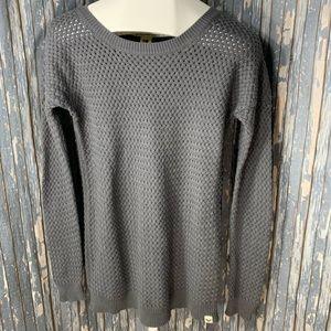 Roxy Grey Sweater Size Medium
